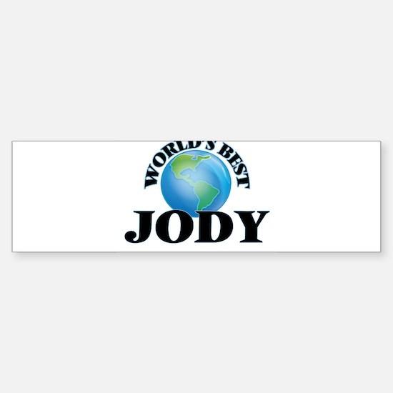 World's Best Jody Bumper Bumper Bumper Sticker