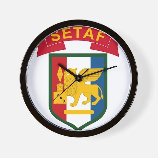 Southern European Task Force (SETAF).pn Wall Clock