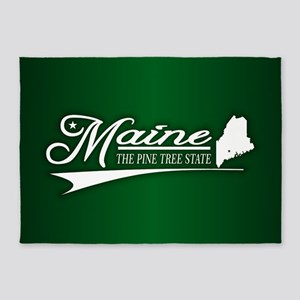 Maine State of Mine 5'x7'Area Rug