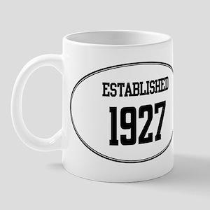 Established 1927 Mug