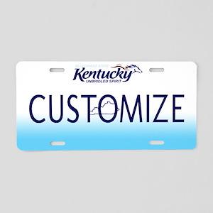 Kentucky Custom Aluminum License Plate