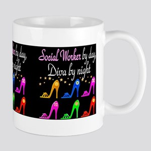 SOCIAL WORKER DIVA Mug