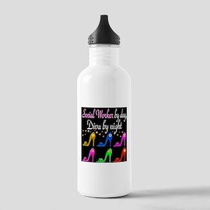 SOCIAL WORKER DIVA Stainless Water Bottle 1.0L