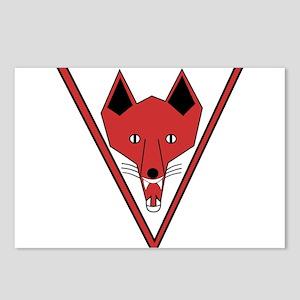 u-255_Grinning Fox Postcards (Package of 8)