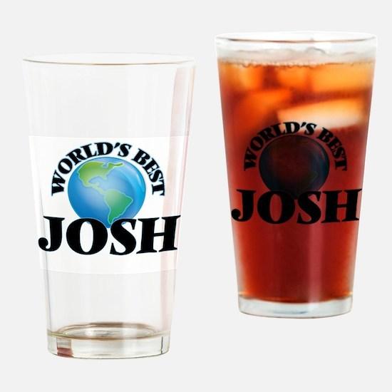 World's Best Josh Drinking Glass