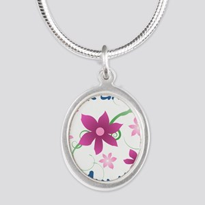 World's Greatest Aunt (Flowery) Necklaces