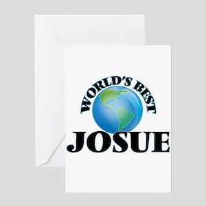 World's Best Josue Greeting Cards