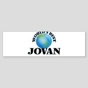 World's Best Jovan Bumper Sticker