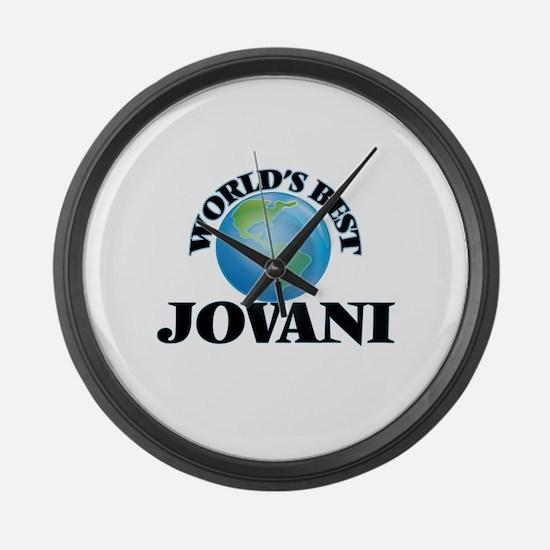 World's Best Jovani Large Wall Clock