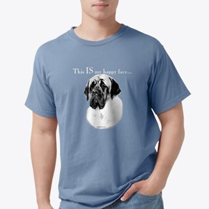 Mastiff Happy Face dark T-Shirt