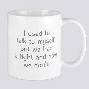 I Used To Talk To Myself Mug