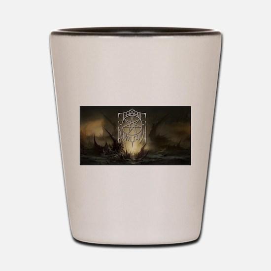 Throne Logo - DGoT Shot Glass