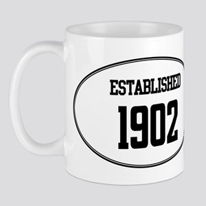 Established 1902 Mug