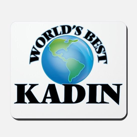 World's Best Kadin Mousepad