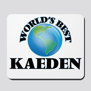 World's Best Kaeden Mousepad