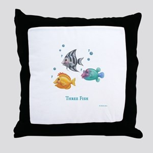 One Fish, Two Fish Throw Pillow