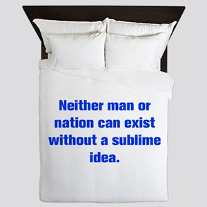 Neither man or nation can exist without a sublime