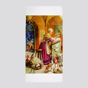 Mrs. Claus & The Elves at the North Po Beach Towel