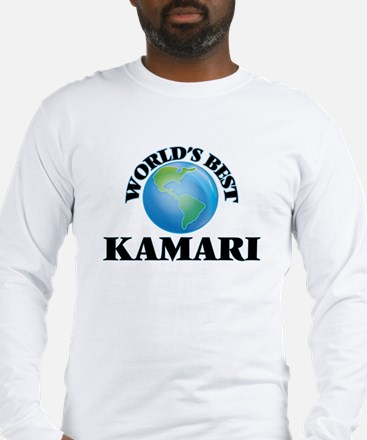World's Best Kamari Long Sleeve T-Shirt