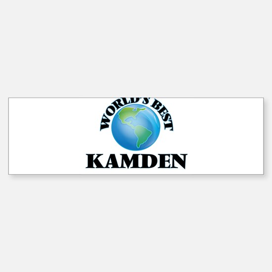 World's Best Kamden Bumper Bumper Bumper Sticker