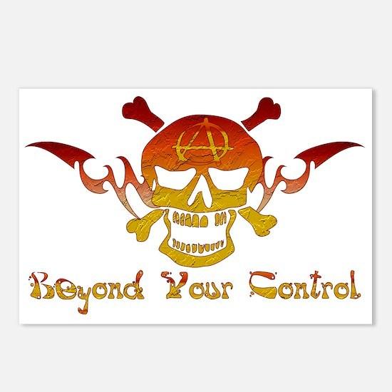 Anarchist Skull Postcards (Package of 8)