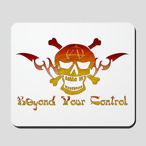 Anarchist Skull Mousepad
