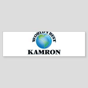 World's Best Kamron Bumper Sticker