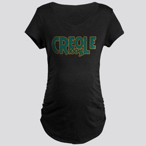 100% Creole Maternity Dark T-Shirt