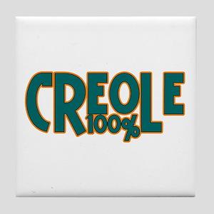 100% Creole Tile Coaster