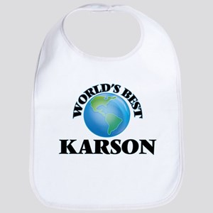 World's Best Karson Bib