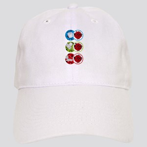 Kibo 3 Patches Baseball Cap