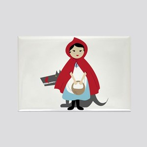 Red Riding Hood Magnets