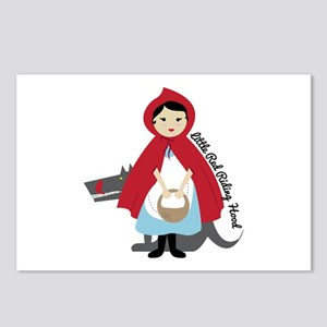 Riding Hood Postcards (Package of 8)