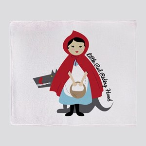 Riding Hood Throw Blanket