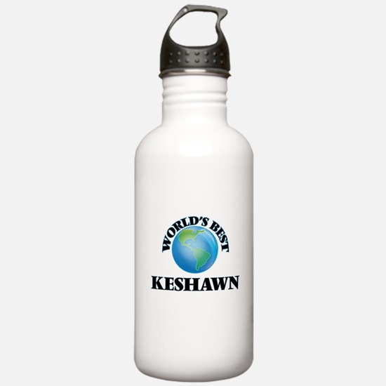 World's Best Keshawn Sports Water Bottle