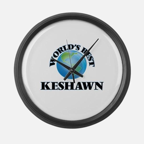World's Best Keshawn Large Wall Clock