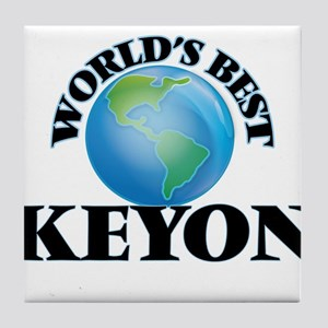 World's Best Keyon Tile Coaster