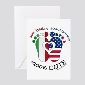 Italian American Baby Greeting Cards