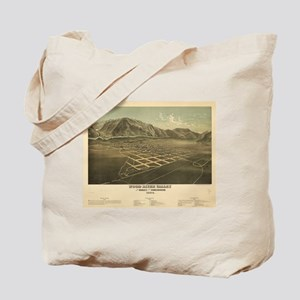 1884.Idaho Falls map Tote Bag