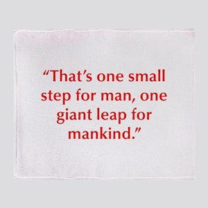 That s one small step for man one giant leap for m