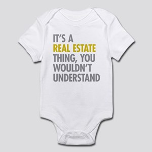 Real Estate Thing Infant Bodysuit