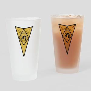 18th Airborne RECONDO Insignia Drinking Glass