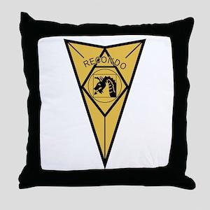 18th Airborne RECONDO Insignia Throw Pillow