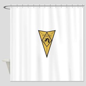 18th Airborne RECONDO Insignia Shower Curtain
