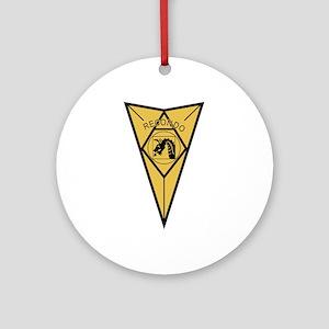 18th Airborne RECONDO Insignia.pn Ornament (Round)