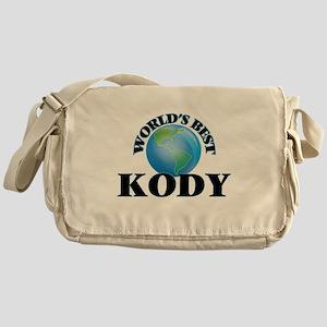 World's Best Kody Messenger Bag