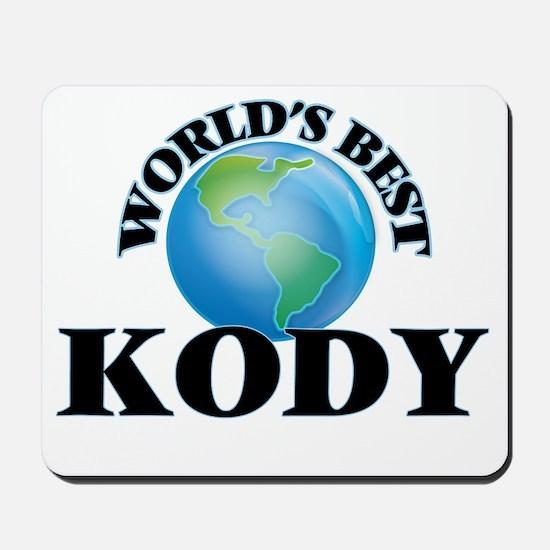 World's Best Kody Mousepad