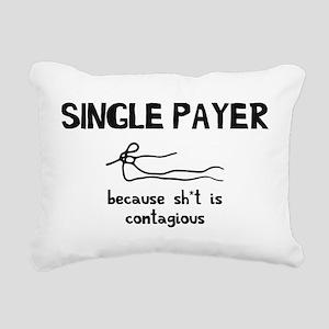 Unisured Contagions Rectangular Canvas Pillow