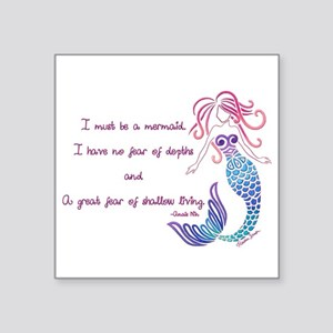 Tribal Mermaid Musings Sticker