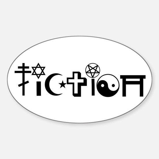 Religious Fiction Decal
